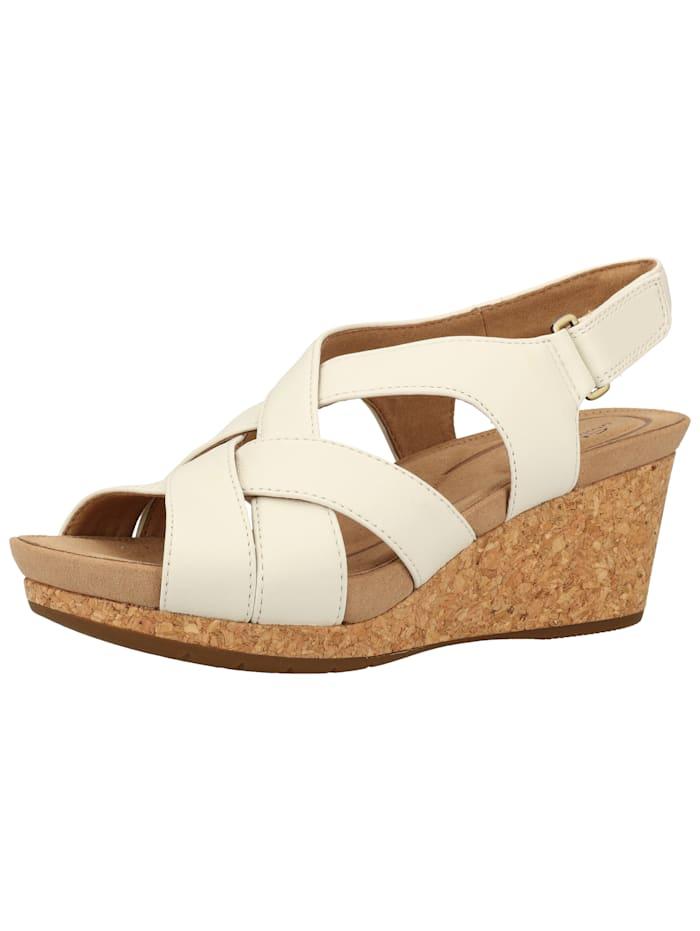 Clarks Clarks Sandalen, Weiß