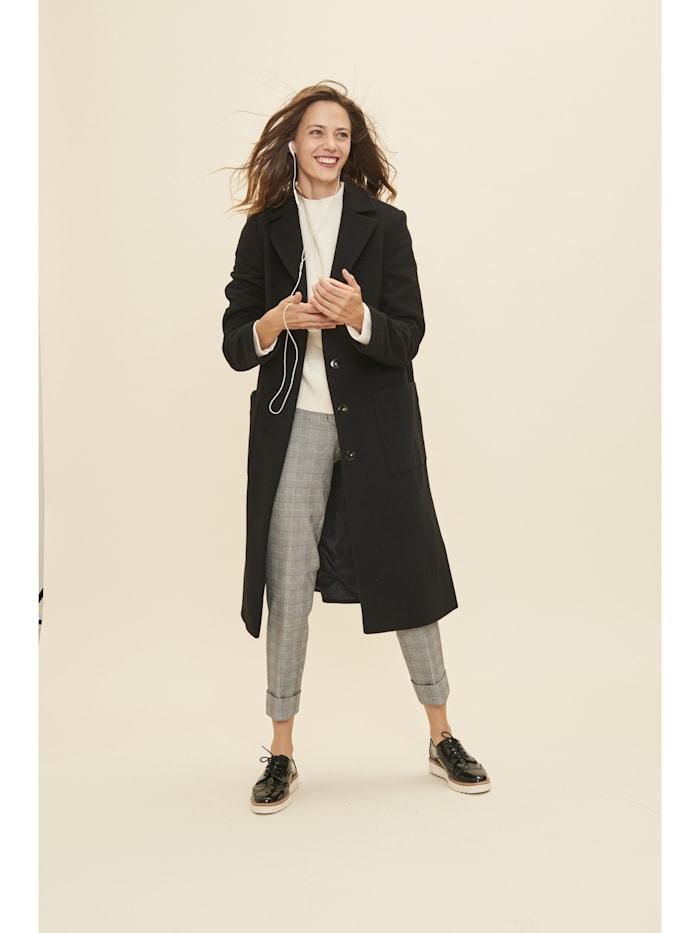 Modischer Mantel in schlichtem Design