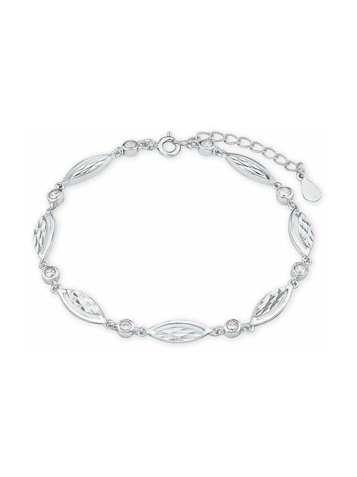 amor Armband für Damen, Sterling Silber 925, Zirkonia, Silber