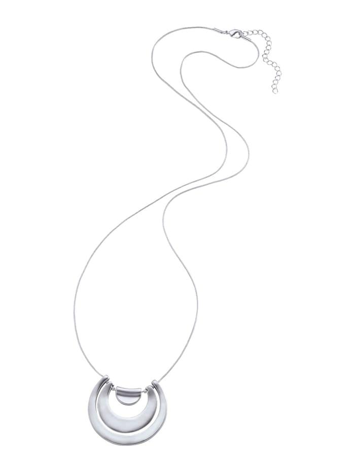 KLiNGEL Halskette, Silberfarben