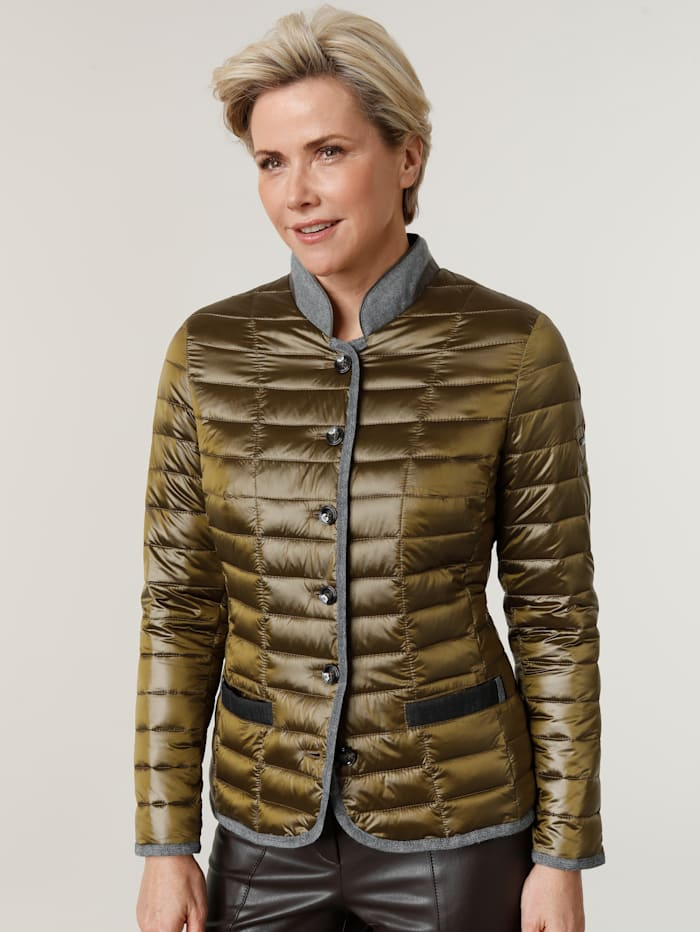 MONA Quilted jacket, Olive
