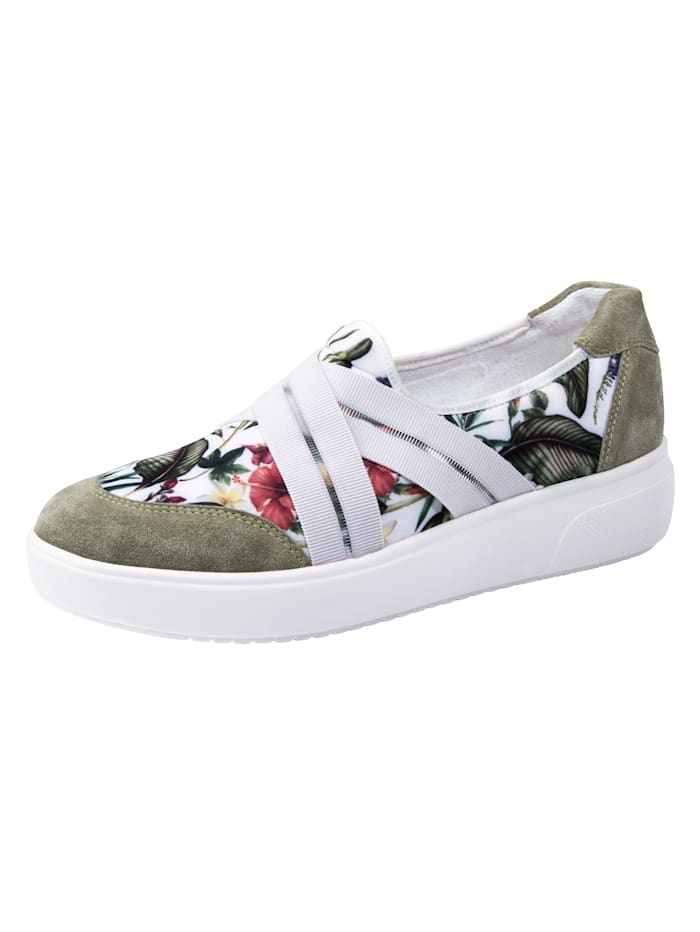 Waldläufer Slipper obuv, Zelená