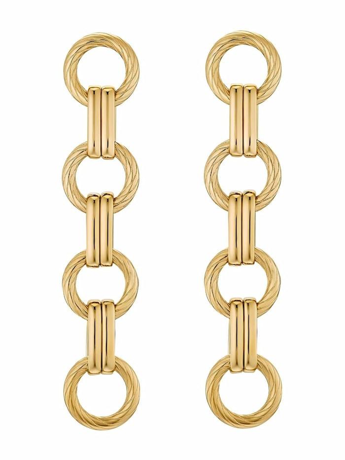 Noelani Ohrhänger für Damen, Stainless Steel IP Gold, Gold