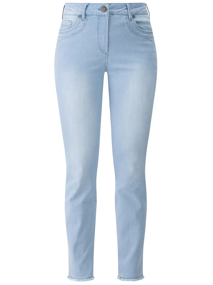 RECOVER Pants Jeans  mit Stickerei, bleached
