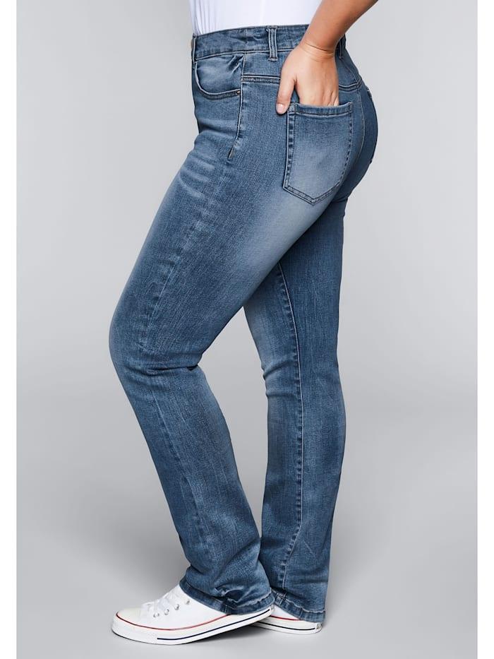 Jeans mit Bodyforming-Effekt