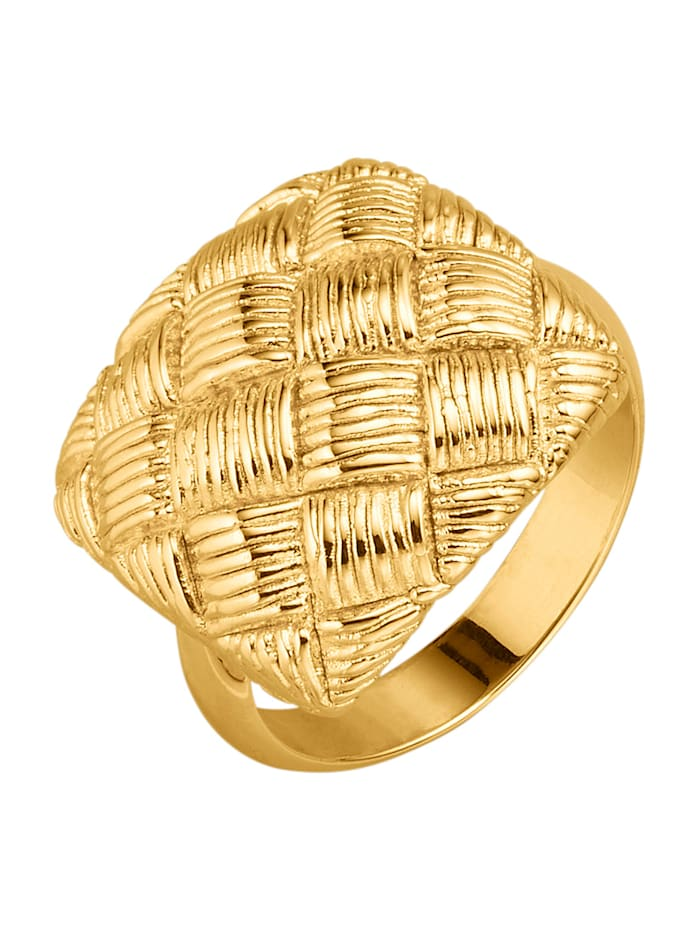 Diemer Gold Damenring in Gelbgold 750, Gelbgoldfarben