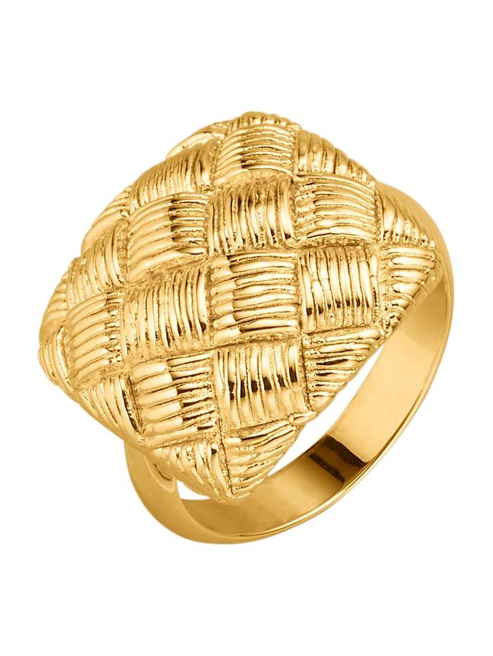 Diemer Gold Damesring van geelgoud, Geelgoudkleur