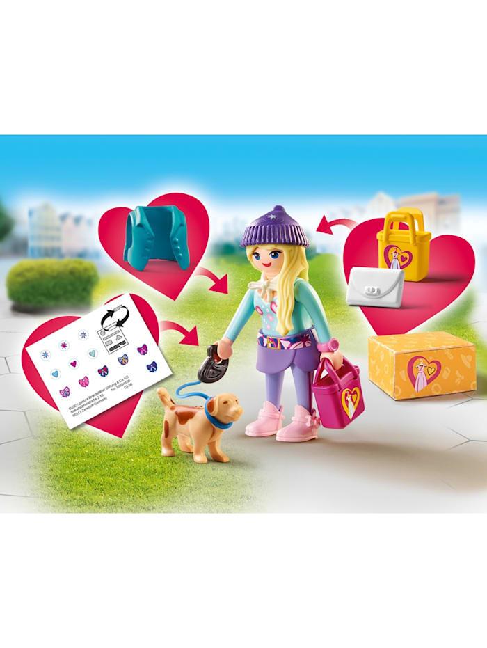 Konstruktionsspielzeug Fashion Girl mit Hund