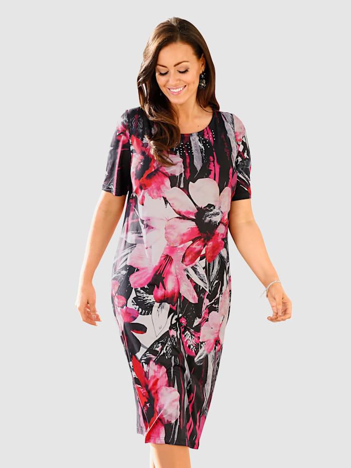 Kleid rundum bedruckt
