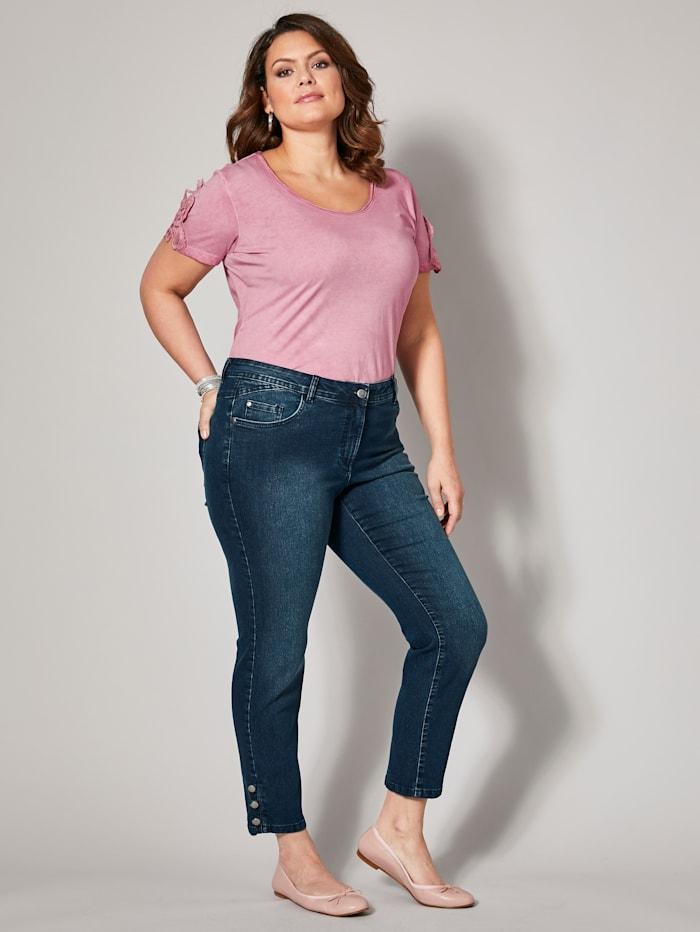 Slim Fit Jeans knöchellang