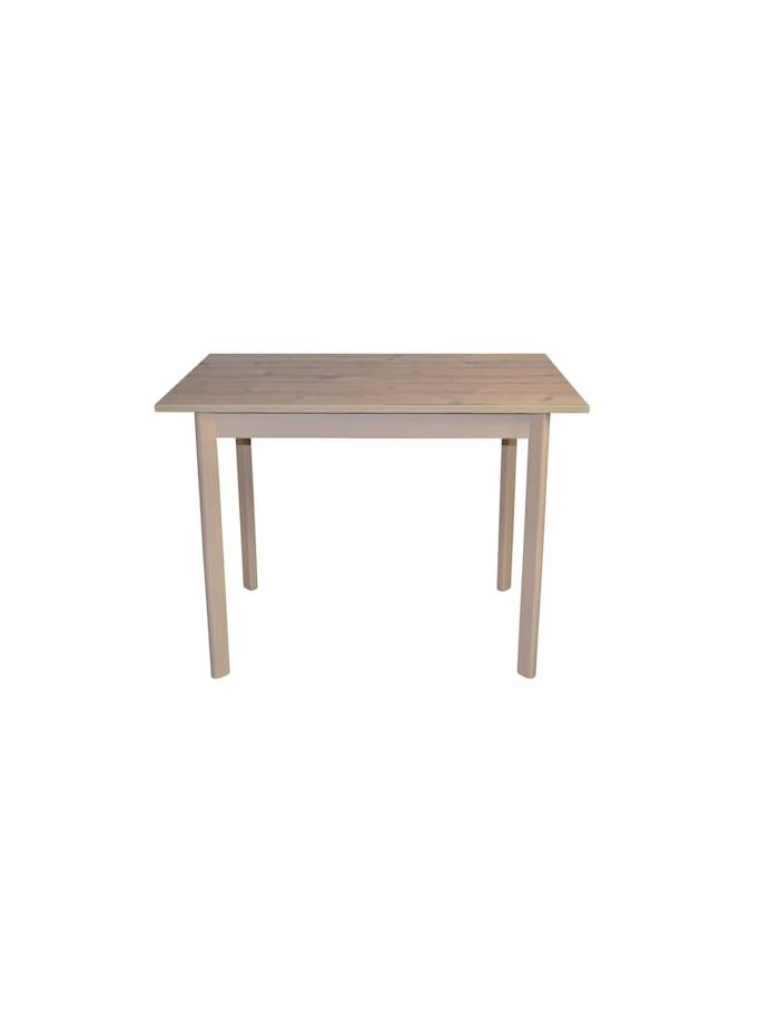 Möbel-Direkt-Online Esstisch 100x70 cm Antje, Eiche-Nachbildung, grau