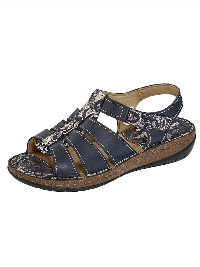 Naturläufer Sandal, Mörkblå