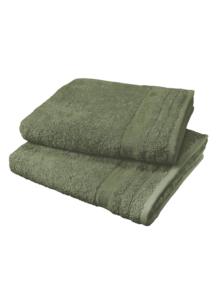 Tom Tailor Frottierserie  Basic Towel, Olive