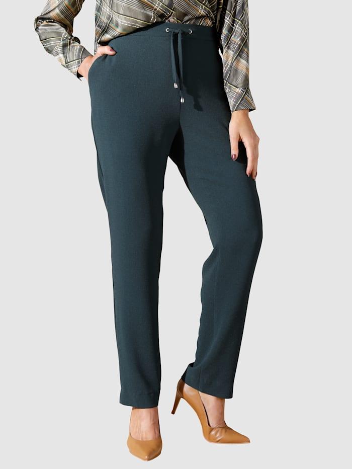 MIAMODA Pantalon en matière légère, Vert