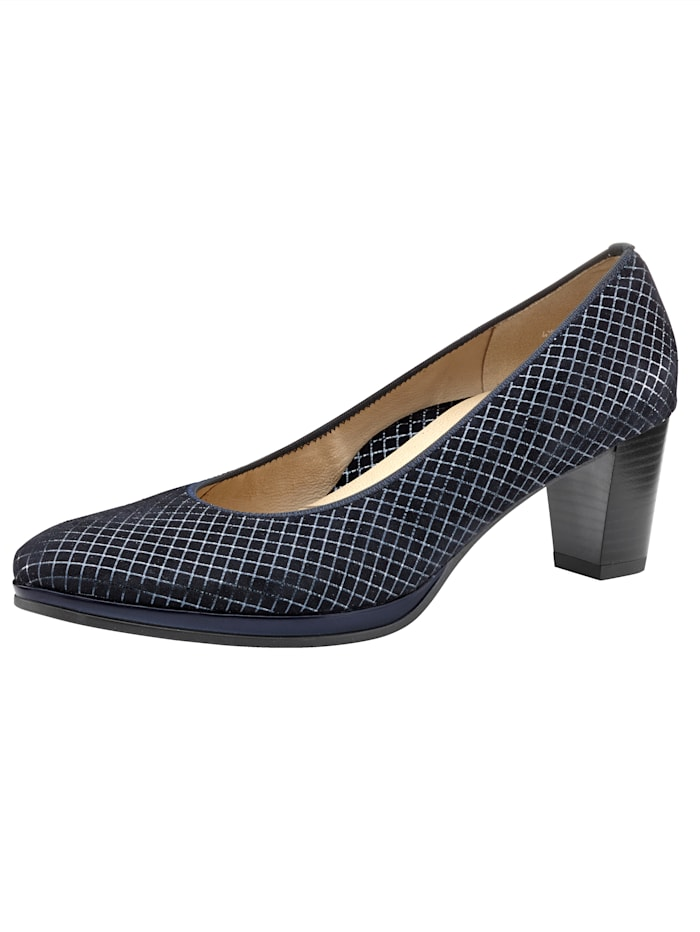 Ara Court shoes in a classic design, Dark Blue