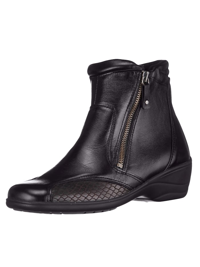 Naturläufer Ankle boots in a timeless design, Black