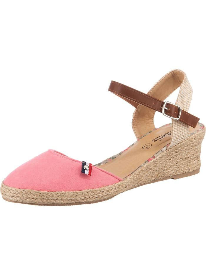 ambellis Classic Sandalette mit Keilabsatz, pink