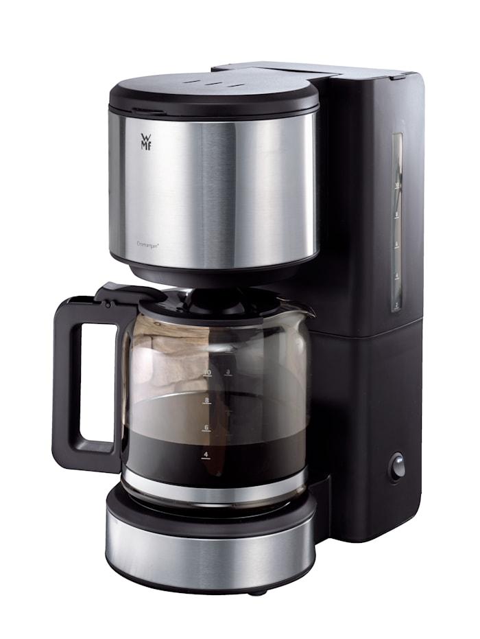WMF Kaffeemaschine STELIO mit Glaskanne, silber/ edelstahl