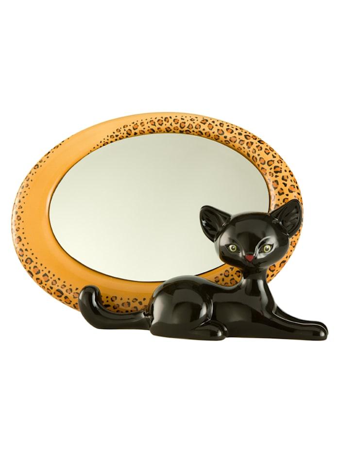 Goebel Goebel Spiegel Leopard Kitty, Bunt