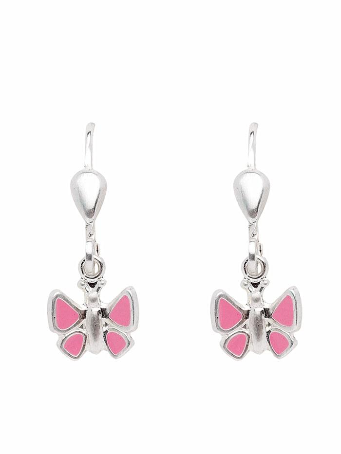 1001 Diamonds 1001 Diamonds Damen Silberschmuck 925 Silber Ohrringe / Ohrhänger Schmetterling, silber