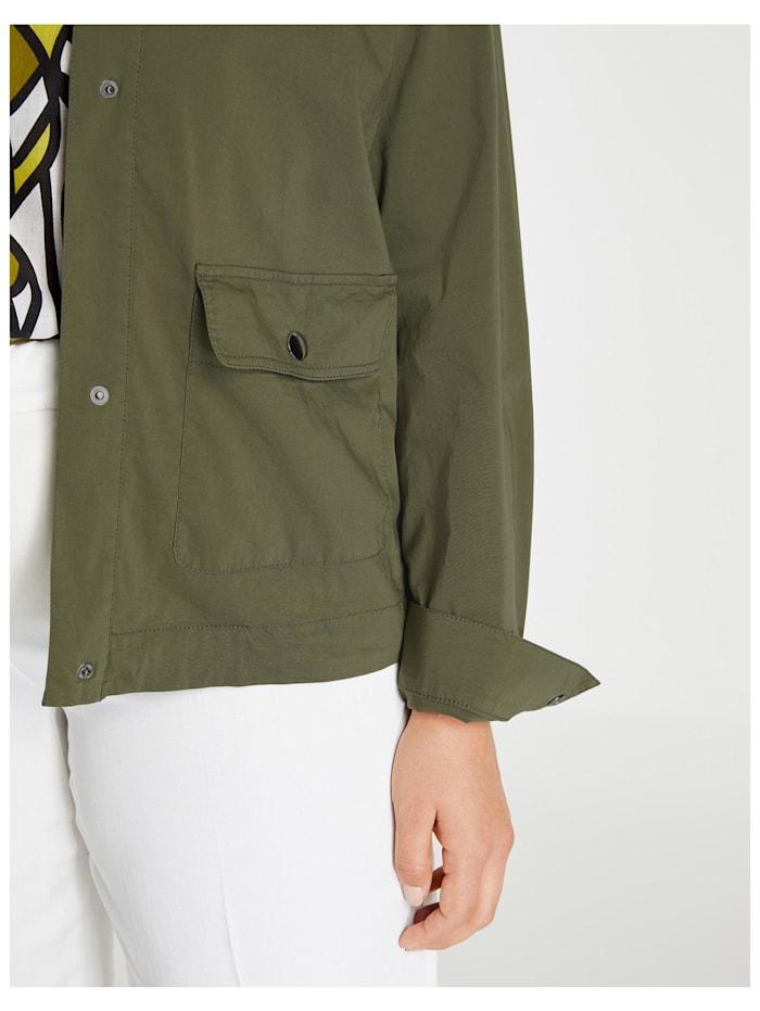 Leichte Jacke aus Organic Cotton