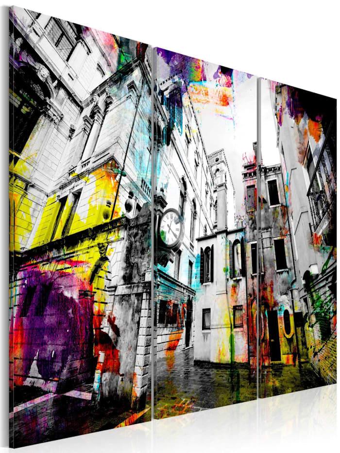 artgeist Wandbild Kunstfertigkeit der Architektur, schwarz-weiß