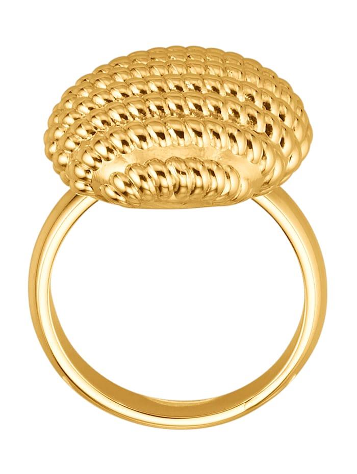 Damenring in Gelbgold 750