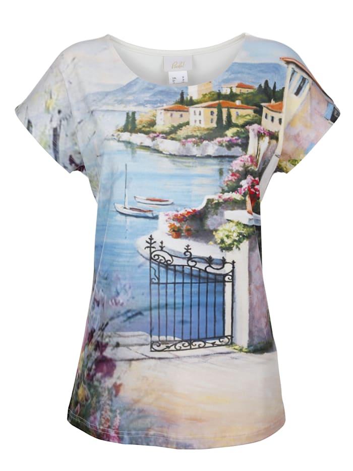 T-shirt à motif imprimé