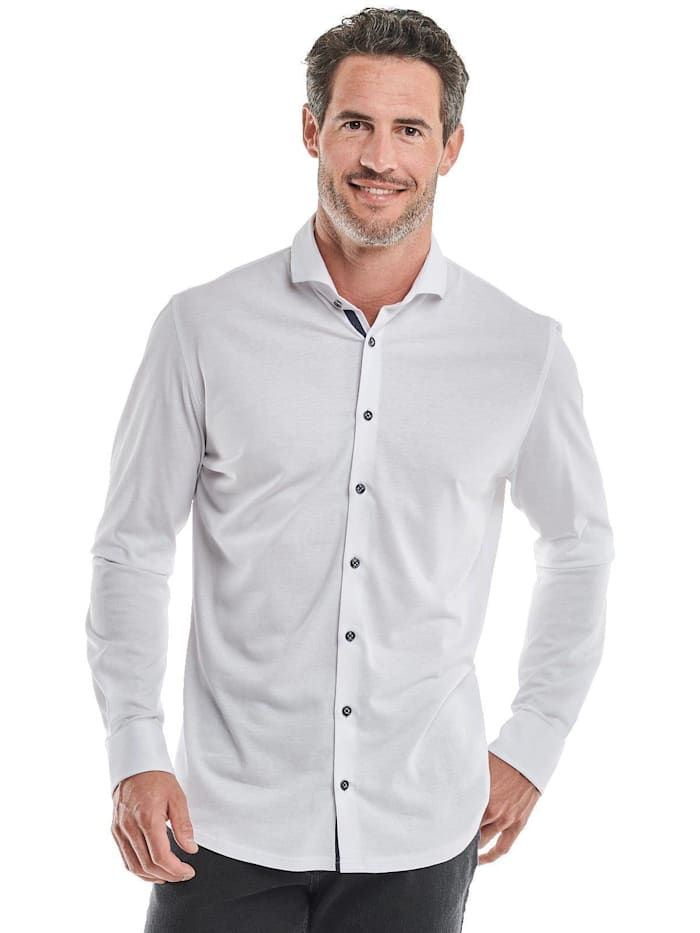 Engbers allround Hemd slim fit, Reinweiss