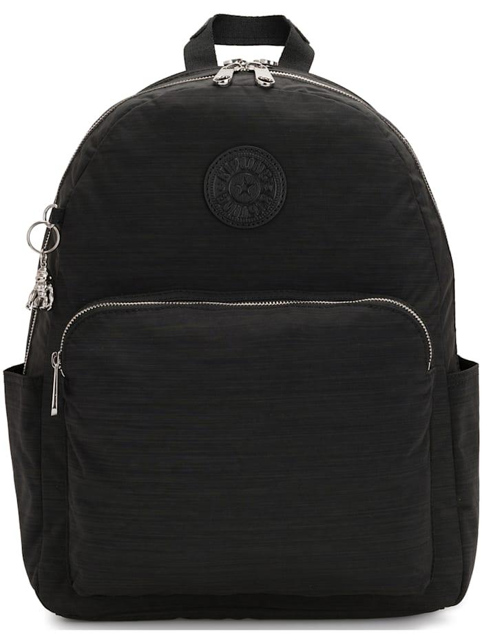 Kipling Basic Plus Citrine Rucksack 41 cm Laptopfach, black dazz