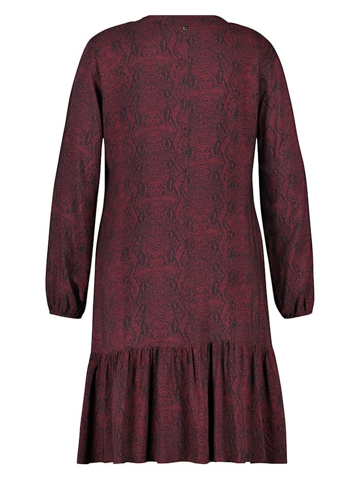 Kleid mit Snake-Print