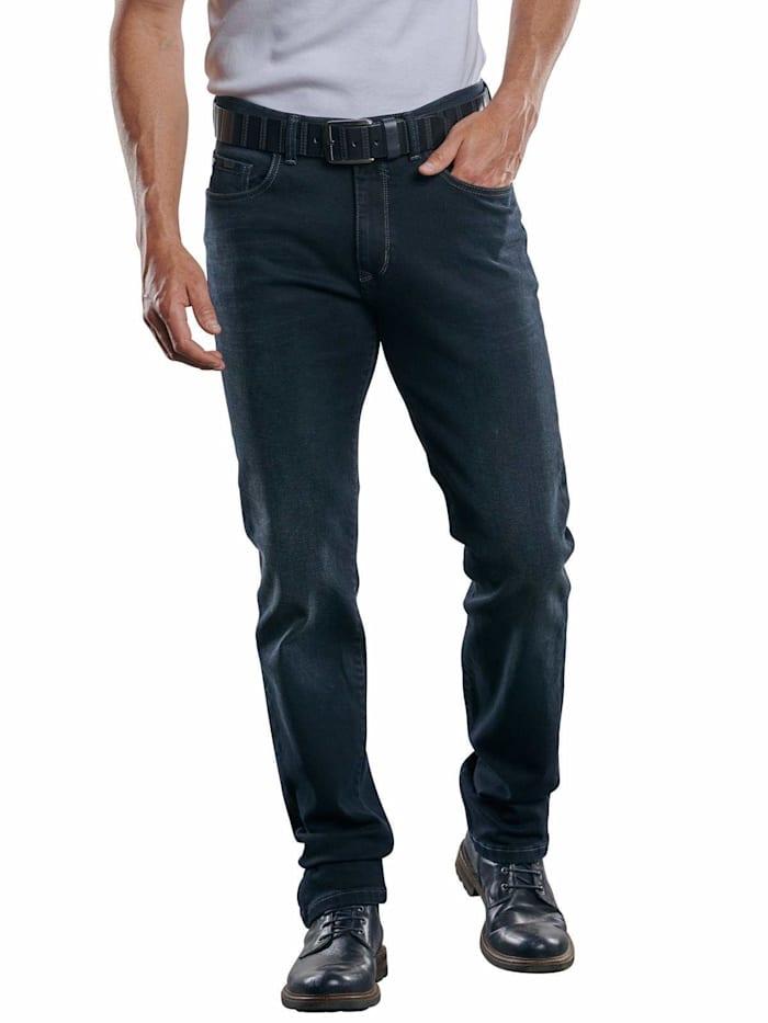 Engbers Elastische 5-Pocket Jeans, Schwarz