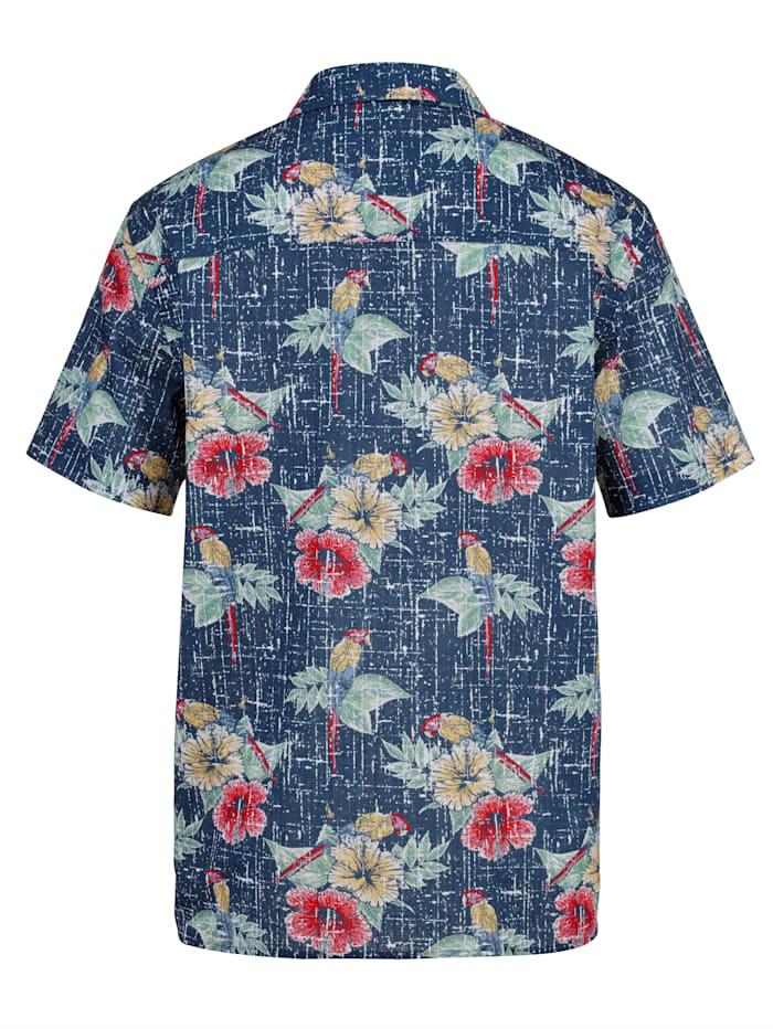 Hawaiiskjorte i 100% bomull