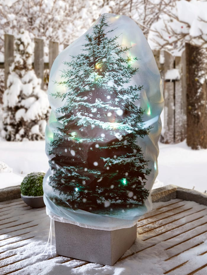 TRI LED Pflanzenschutzhaube, Weiß