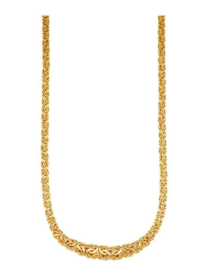 Amara Gold Königskette in Gelbgold 585, Gelbgoldfarben