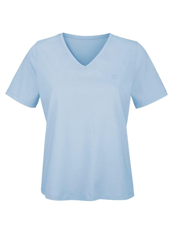 MONA Shirt aus Cotton made in Africa, Hellblau