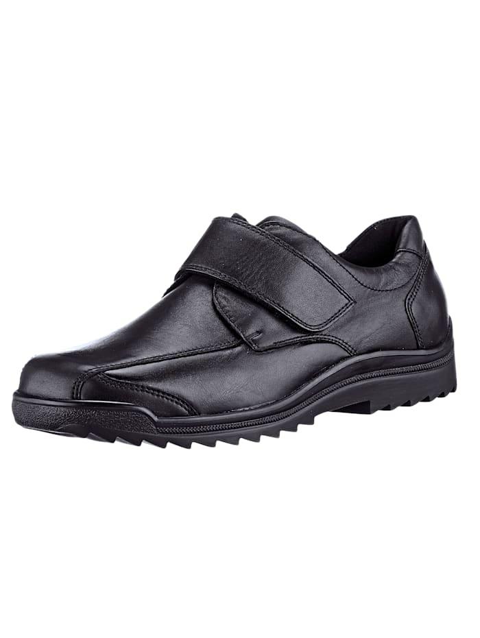 Waldläufer Trotteurs pour les pieds particulièrement sensibles, Noir