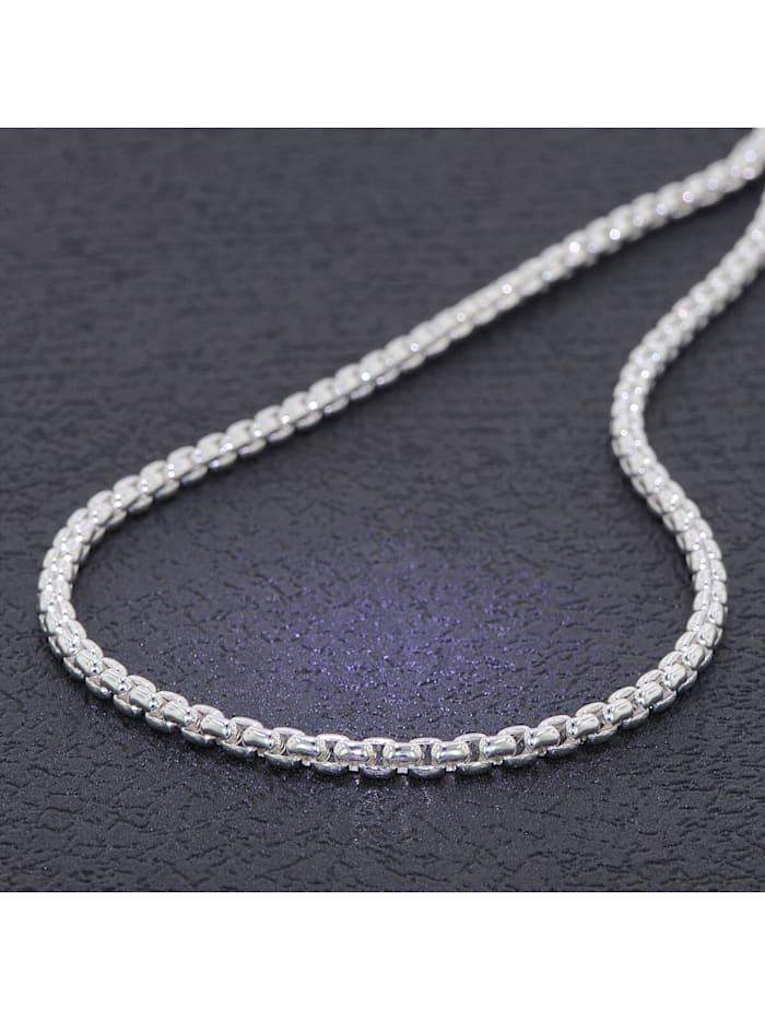 Halskette 925 Silber Venezia-Kette Rund 3,7 mm