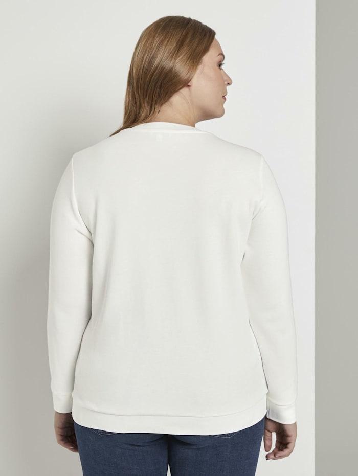 Sweater mit Schrift-Print