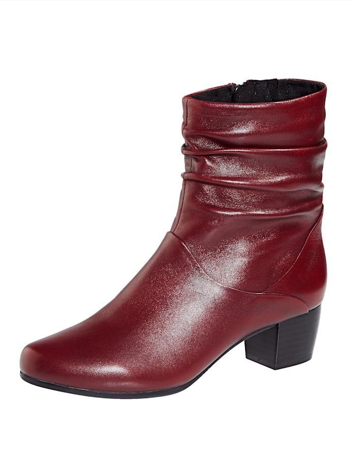 MONA Ankle boots, Bordeaux