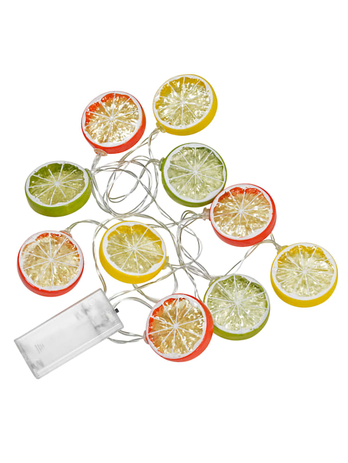 PFConcept Guirlande lumineuse Fruits, Multicolore
