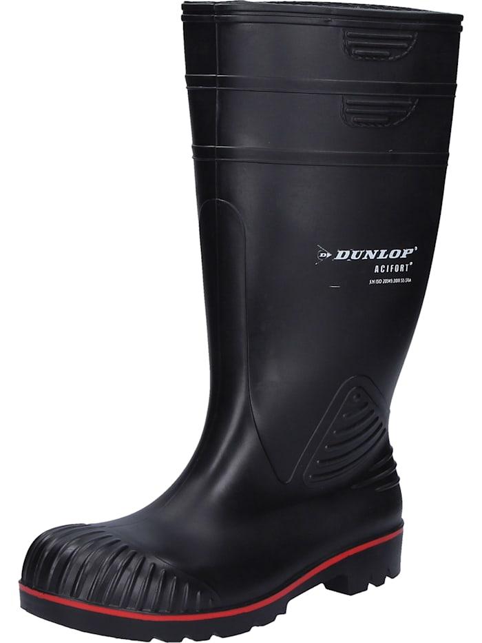 Dunlop Sicherheitsstiefel Acifort, schwarz