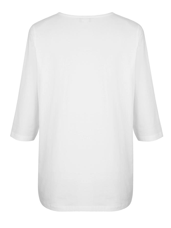 Tričko s predlžujúcim V-výstrihom