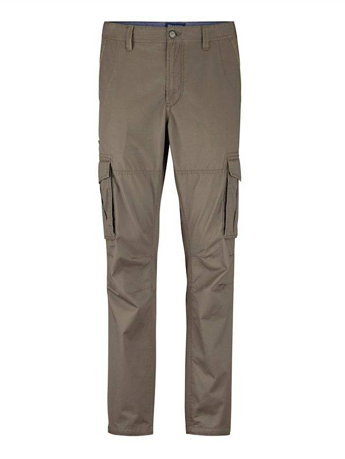 BABISTA Pantalon cargo avec nombreuses poches pratiques, Kaki