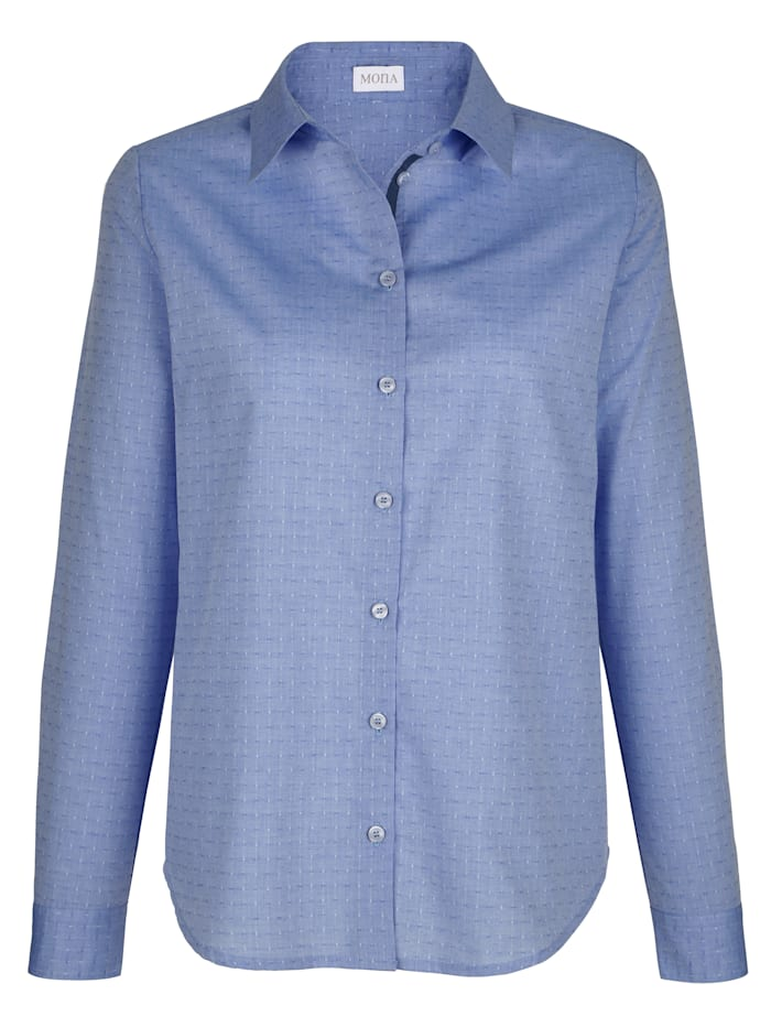 Blouse with a spot print
