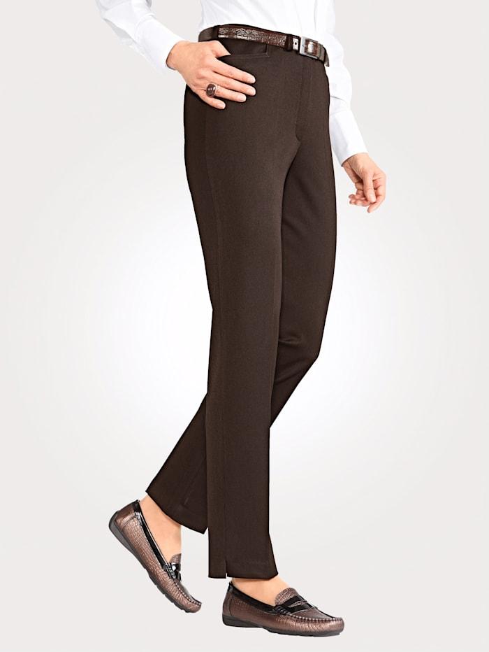 Pantalon en matière stretch