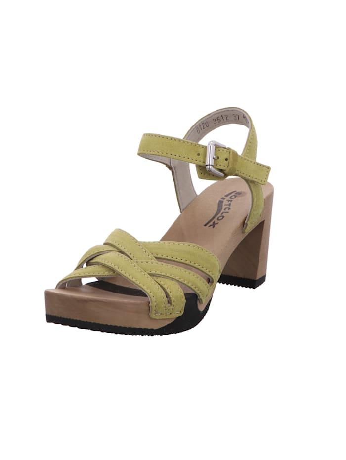 Softclox Sandalen/Sandaletten, grün