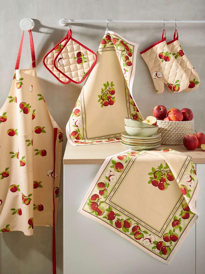 Set van 2 ovenwanten Appel