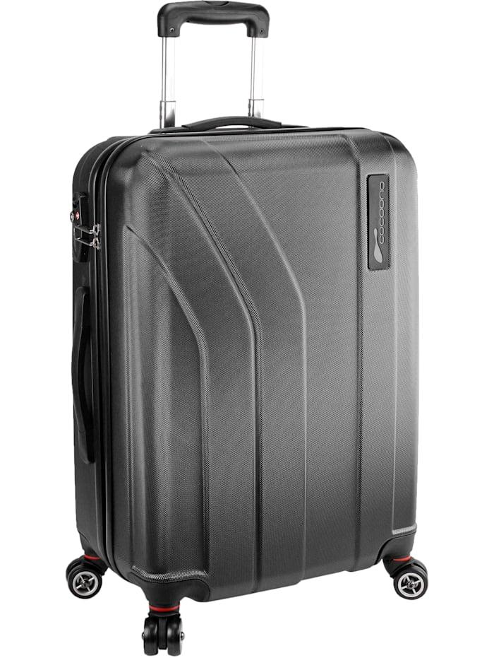 cocoono Trend 4-Rollen Trolley 65 cm, schwarz