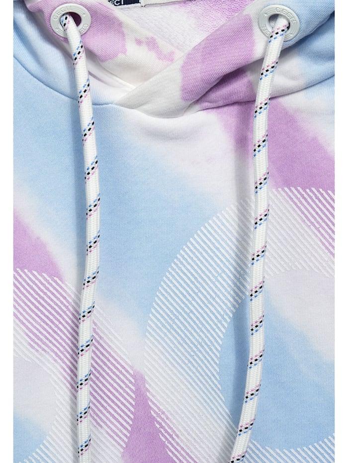 Sweatshirt mit Tie Dye